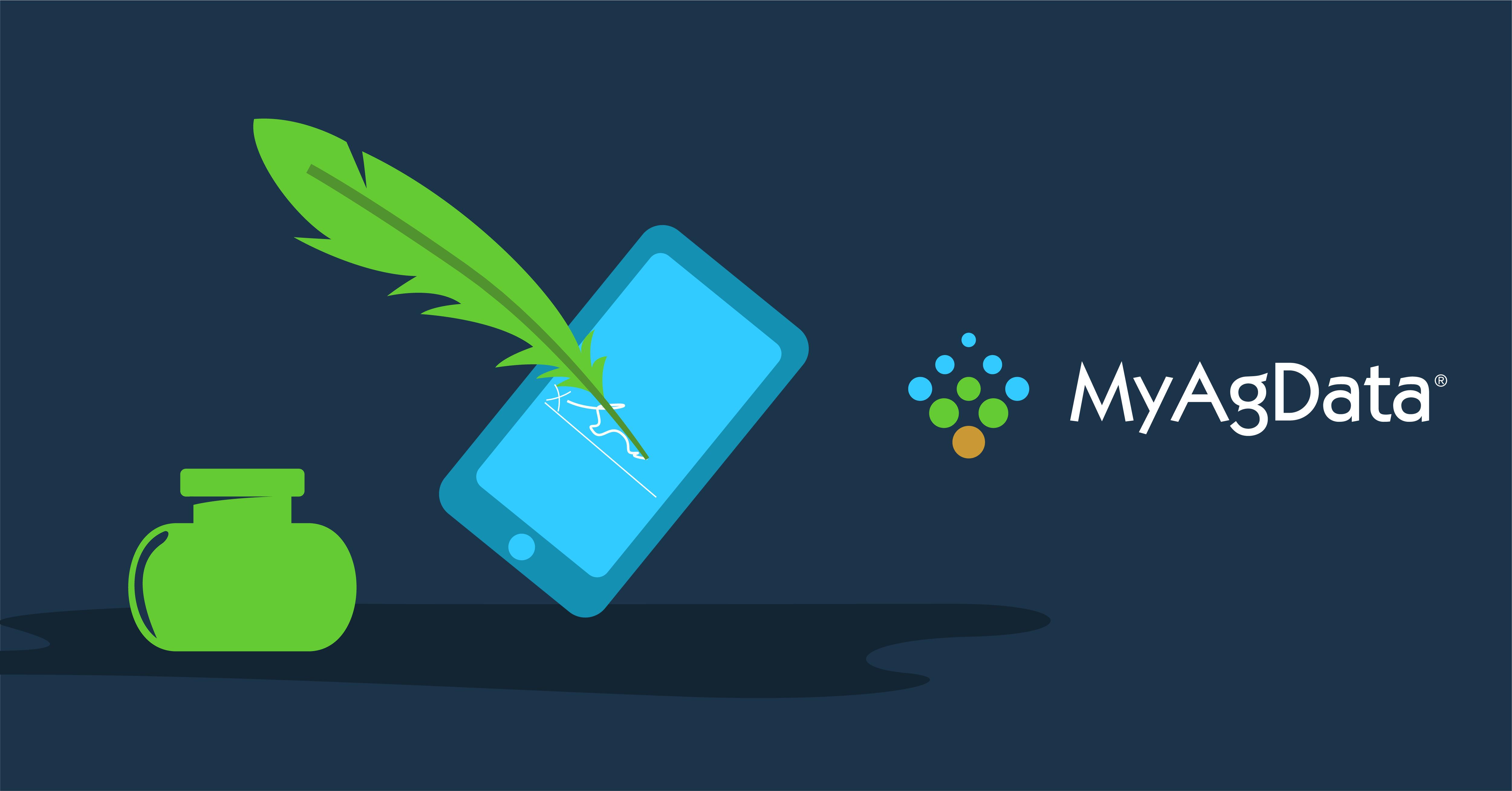 E-signature MyAgData